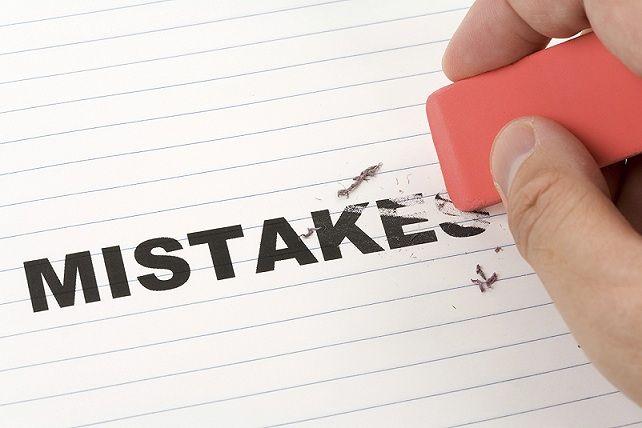 جبران اشتباه کردن